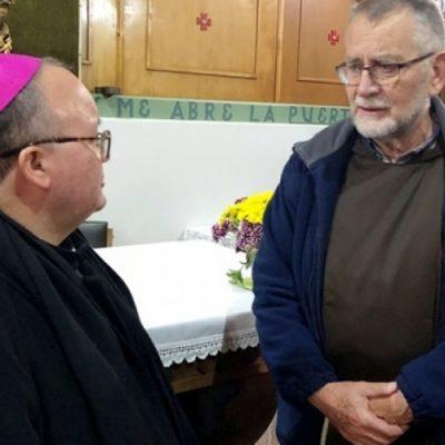 Durante su Misión Pastoral en Osorno, Mons. Scicluna visitó Centro de Espiritualidad Francisco Valdés