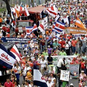 Costa Rica: Los sindicatos buscan la intervención de la Corte Suprema
