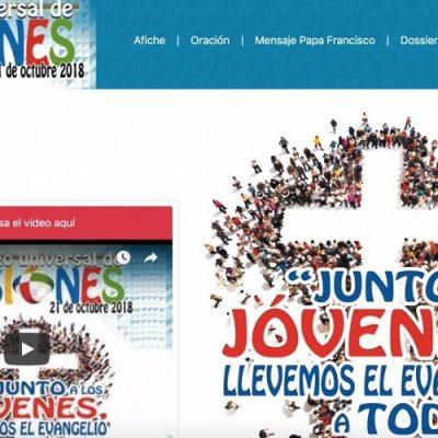 """Jornada Domingo Universal de Misiones (DUM): """"Junto a los jóvenes, llevemos el Evangelio a todos"""""""