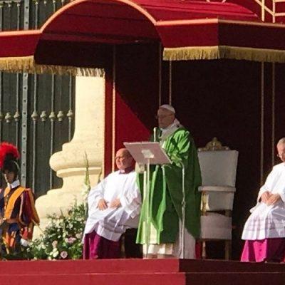 Homilía del Papa Francisco durante Misa de inauguración del Sínodo de los Obispos