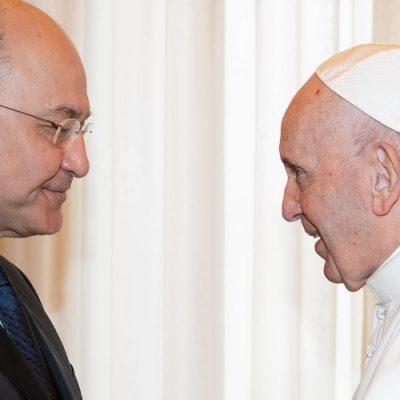Irak: El Papa y Barham Saleh resaltan la presencia de los cristianos en el país