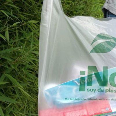 Bolsas de plástico que se convierten en abono