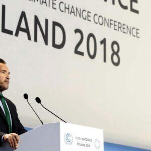 Schwarzenegger convoca a la sociedad civil a luchar contra el cambio climático