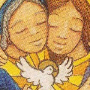 """El Evangelio que anunciamos las mujeres. """"Las madres que se abrazan"""""""