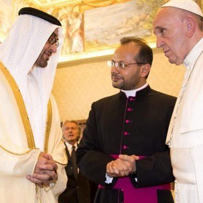 El Papa visitará Abu Dhabi para participar en un encuentro interreligioso