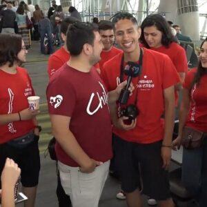 Primeros peregrinos chilenos en la tierra de la JMJ 2019