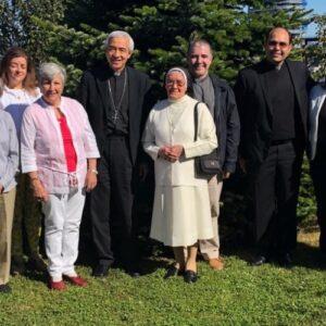 Visitador Apostólico, Mons. Jorge Patrón Wong, llegó a Chile