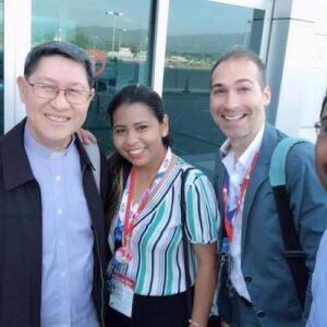 Presidente de Caritas Internacional inicia actividades en la JMJ