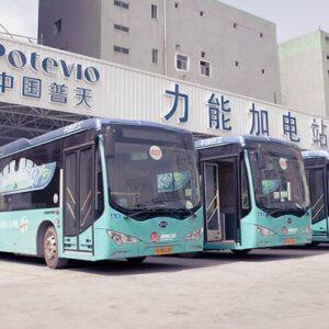 Shenzhen: La mega ciudad china que convirtió en eléctricos todos sus buses