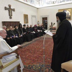 El Papa: Que en Oriente Medio los cristianos sean reconocidos ciudadanos
