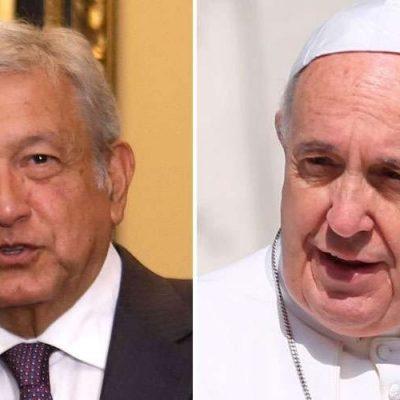 AMLO plantea una mesa de diálogo sobre Venezuela en México con el Papa como posible mediador