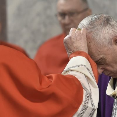 """Roma: Francisco celebrará el inicio de la Cuaresma con """"Estaciones"""" romanas"""