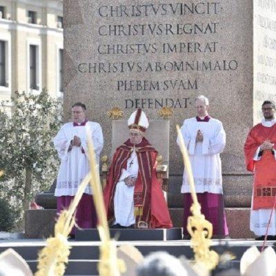 El Papa Francisco y las celebraciones durante la Semana Santa 2019