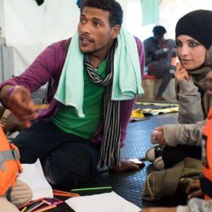 Libia: Altas tasas de desnutrición entre los refugiados detenidos