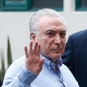 Michel Temer fue excarcelado pero enfrenta diez causas judiciales