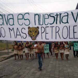 Los Waorani de Ecuador demandan al Estado por explotación petrolera
