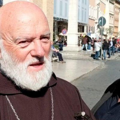 Celestino Aós se refiere al encuentro con el Papa Francisco
