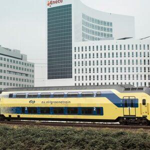 Los trenes de Holanda usan energía eólica
