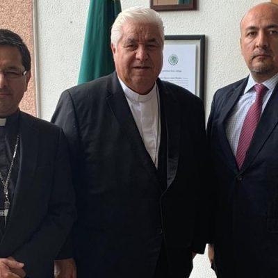 México: Reunión entre el subsecretario para América Latina y el presidente del Episcopado Mexicano