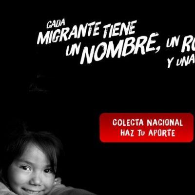 INCAMI celebra el Día del Migrante y realiza colecta nacional