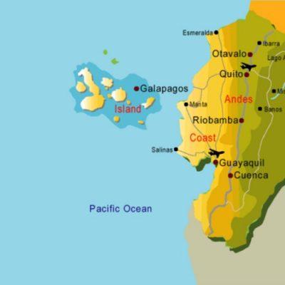 La Amazonía ecuatoriana representa el 48% del territorio nacional