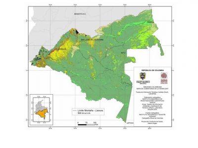 Amazonía colombiana: El área selvática constituye el 80,8% de la región