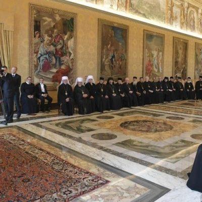 El Papa: El Sínodo no es un parlamento, sin el Espíritu Santo no hay Sínodo
