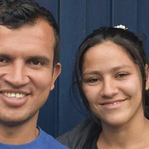 Ecuador: Yorbelys y Rafael, viajando con un deseo y una oración