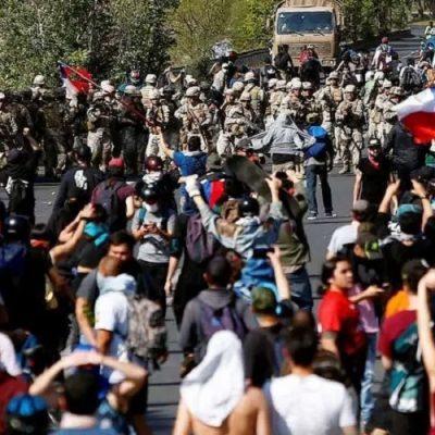 Explosión social en Chile