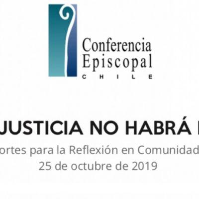 Sin justicia no habrá paz: Aportes para la reflexión en comunidades