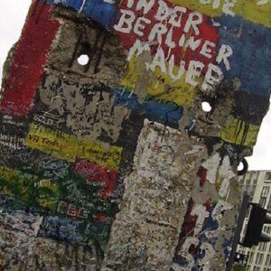 La caída del Muro de Berlín: un momento estelar