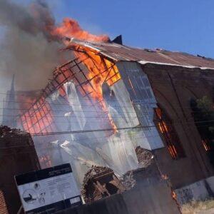 Declaración sobre el incendio de la iglesia San Francisco de Curicó