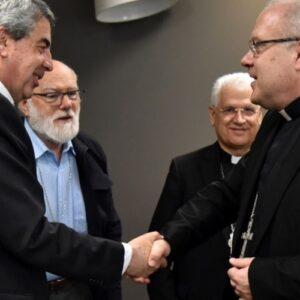Nuncio Alberto Ortega Martín llegó a Chile