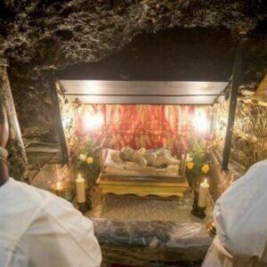 Un fragmento del pesebre de Jesús regresó a Belén después de 1.300 años