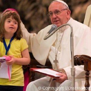 """Francisco exige la """"ciudadanía plena"""" para las personas con discapacidad"""