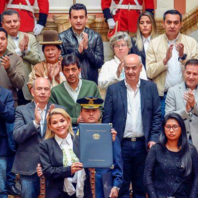 Cambio de régimen en Bolivia