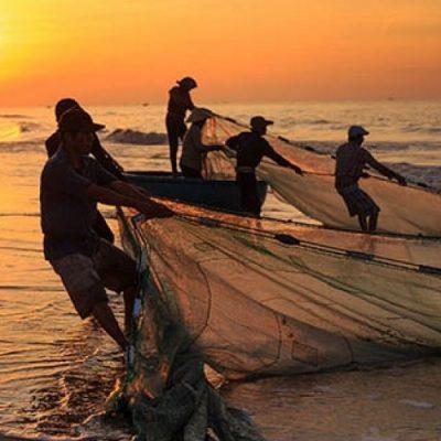 """El Papa, a los pescadores: """"No pierdan la esperanza ante las incertidumbres"""""""