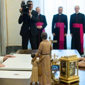 Irak: El Papa recibe al presidente Barham Saleh en el Vaticano