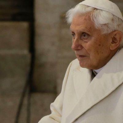"""Benedicto XVI: """"Soy un hombre anciano al final de su vida"""""""