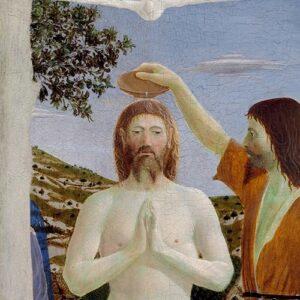 Tras el Bautismo Jesús se siente inundado por el Espíritu del Padre