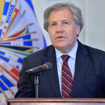 Luis Almagro fue reelegido al frente de la OEA