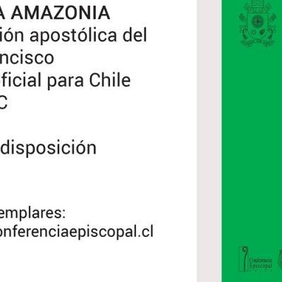 """Edición oficial para Chile de """"Querida Amazonía"""", exhortación apostólica del Papa Francisco"""