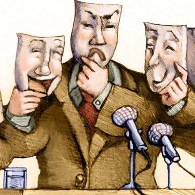 La mentira política
