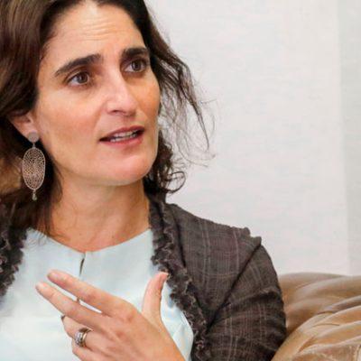 """María José Zaldívar: """"Poner en el centro al ser humano"""""""