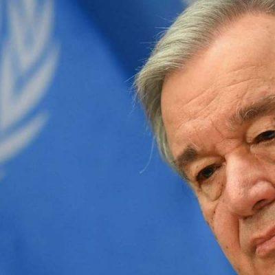 ONU, António Guterres: Confinamiento causa fuerte aumento de violencia de género