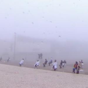 """Fátima, 2020: La """"Mujer vestida de sol"""" surgió entre la niebla y la """"saudade"""" de los peregrinos ausentes"""