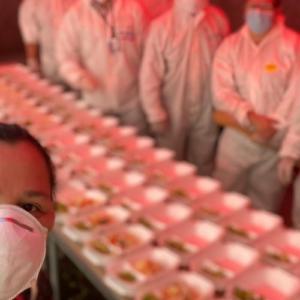 Caritas en alianza con empresas, apoya con alimentación en medio de la pandemia
