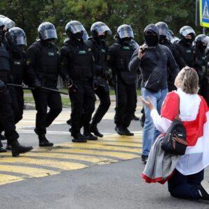 Bielorrusia: Mujeres en la plaza por Kolesnikova