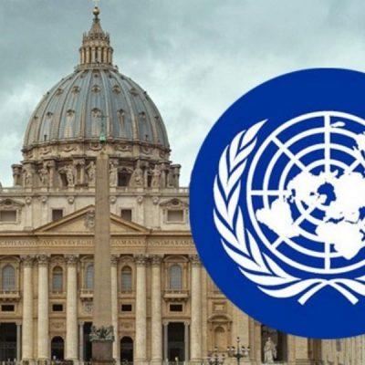 """Francisco ratificó en la ONU que es la """"voz de los sin voz"""" del mundo"""