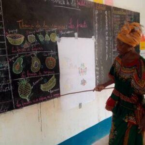 República Centroafricana: Contribuyendo a la educación de niñas y niños desde la primera infancia